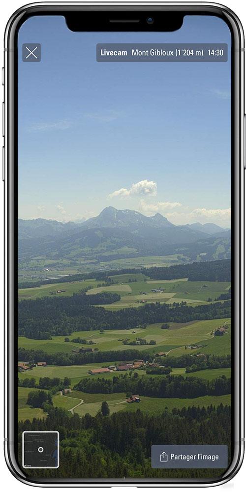 Livecam de plus de 200+ emplacements en Suisse